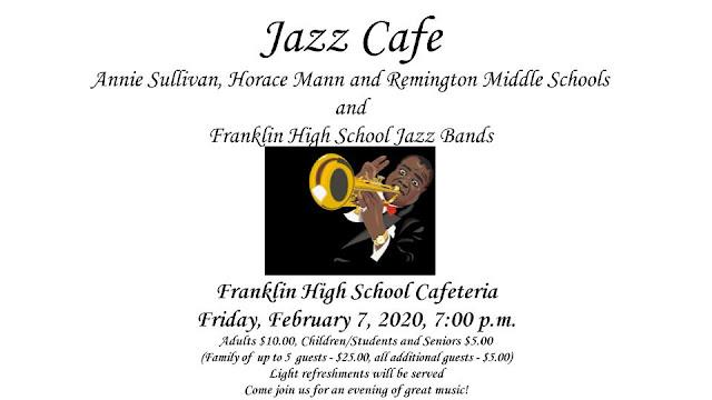 Jazz Cafe - FHS cafeteria - Feb 7