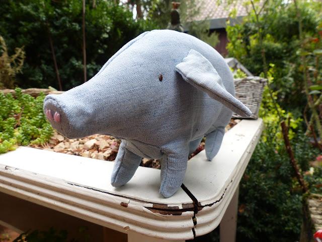 Kuschelschwein nähen
