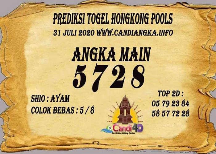 Kode syair Hongkong Jumat 31 Juli 2020 279