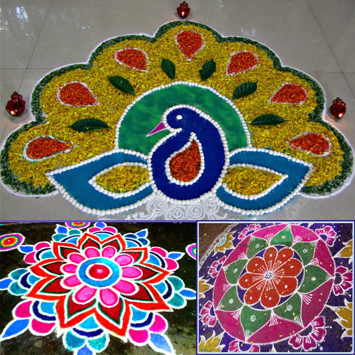 Best Rangoli Design for Diwali 2017 to Decorate your Home