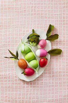 vegetable easter eggs