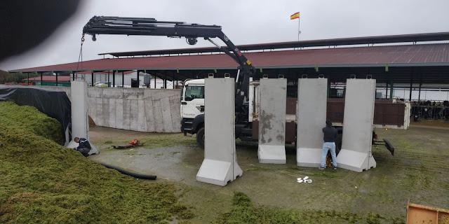 Precio muros de contención para almacenamiento