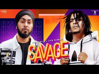 Savage Lyrics Vajeeta