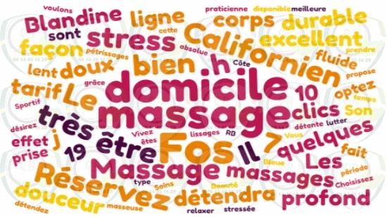 Massage Californien à domicile sur Fos sur Mer;