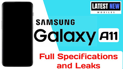 Samsung Galaxy A11 full Specifications