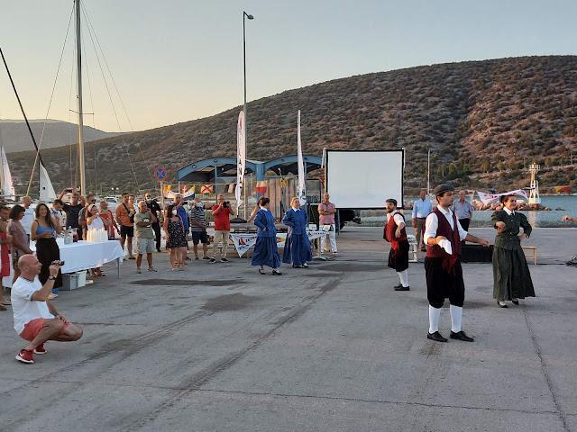 Διοργάνωση από το Ναυταθλητικό Όμιλο Ερμιόνης της τελετή απονομής των μεταλλίων της 1ης Regattas Σαρωνικού