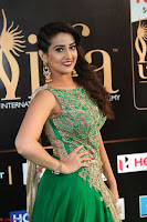 Manjusha in Beautiful Sleeveless Green Anarkali dress at IIFA Utsavam Awards 63.JPG