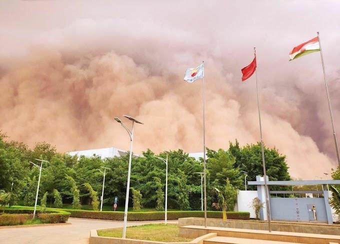 На Україну з Сахари насувається щільна хмара пилу: синоптики повідомили, які області накриє першими