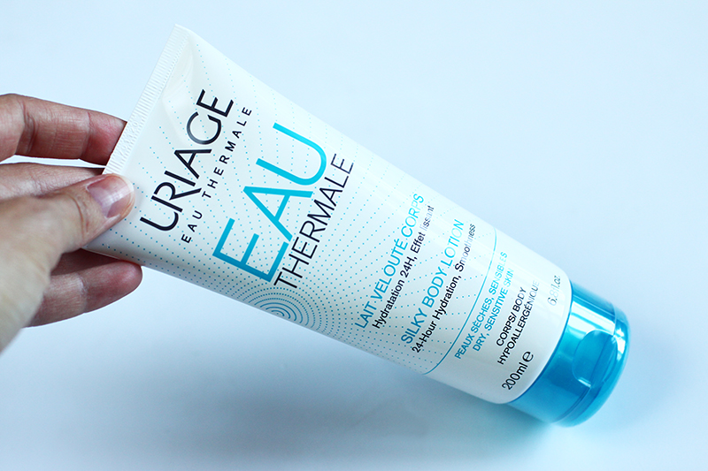 URIAGE THERMAL SILKY BODY LOTION REVIEW