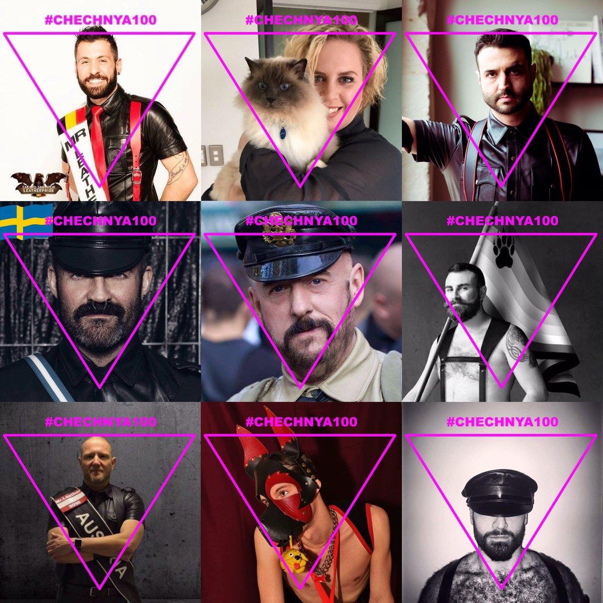 Entenda o triângulo rosa em apoio a população LGBT da Chechênia