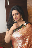 Udaya Bhanu lookssizzling in a Saree Choli at Gautam Nanda music launchi ~ Exclusive Celebrities Galleries 069.JPG