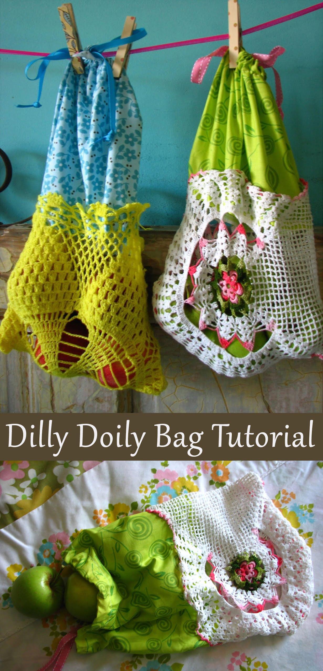 Dilly Doily Bag Tutorial