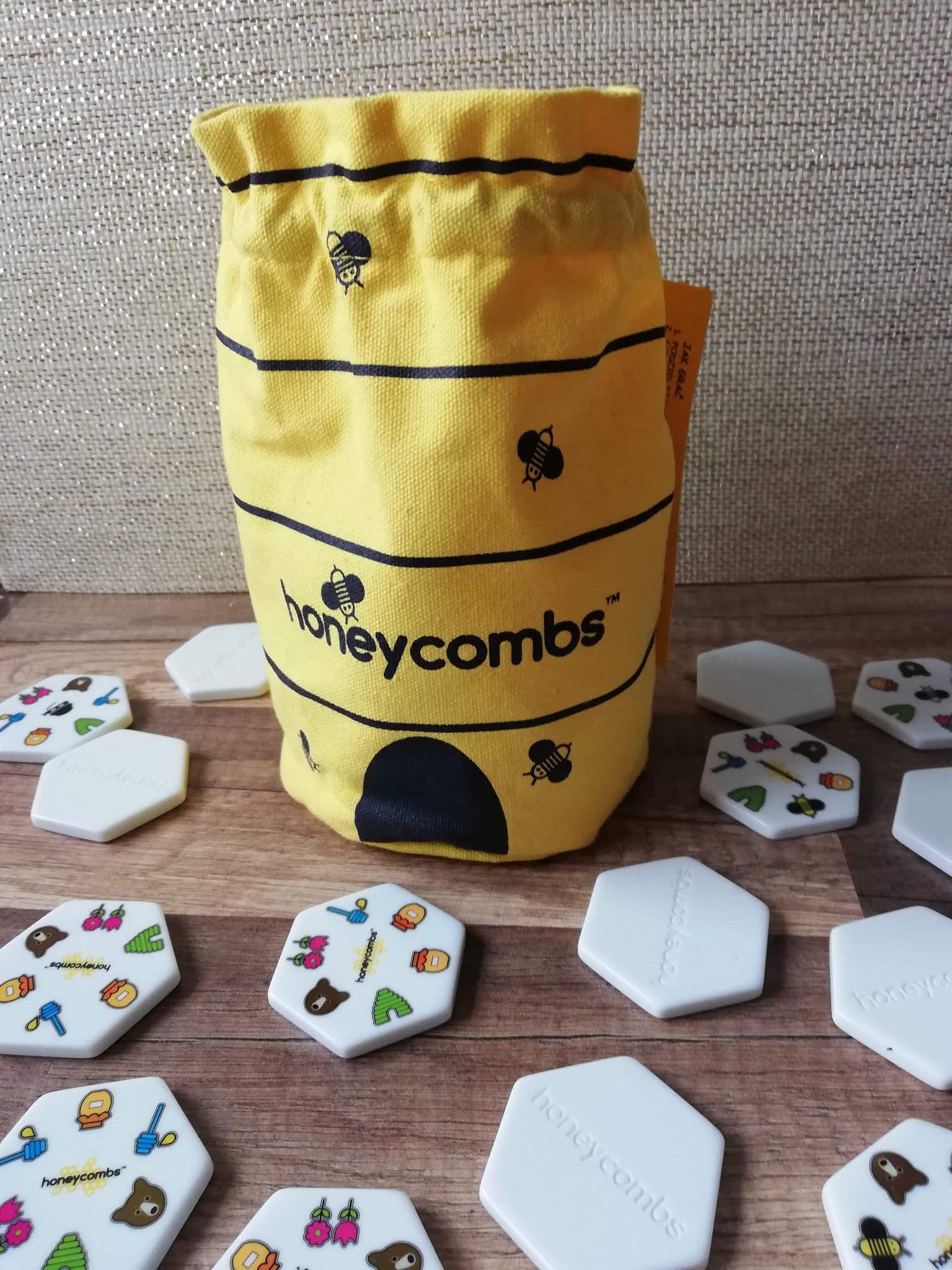 Recenzja gry Honeycombs