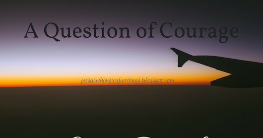 A Question of Courage Cover Reveal!