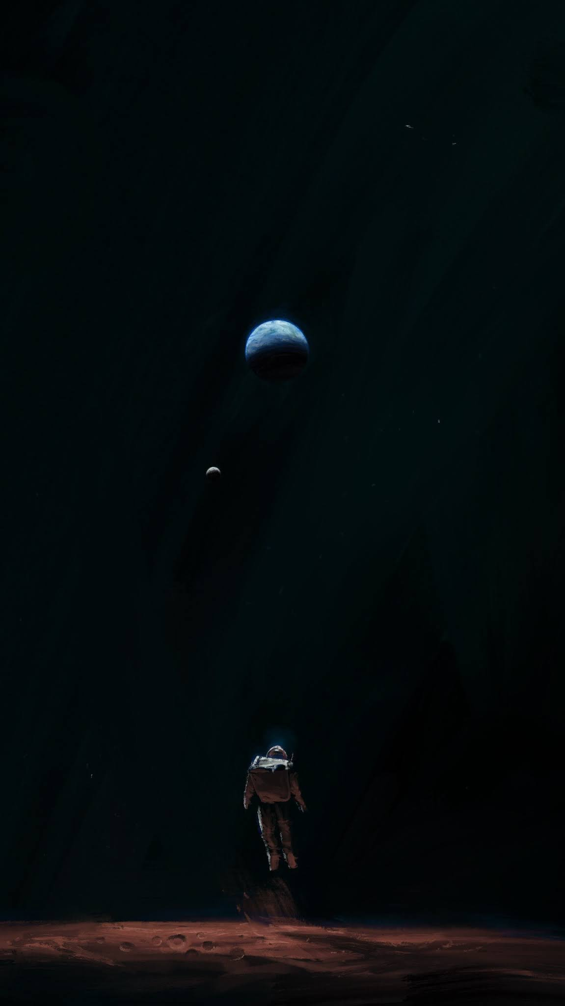 ASTRONAUT WALLPAPER FOR IPHONE