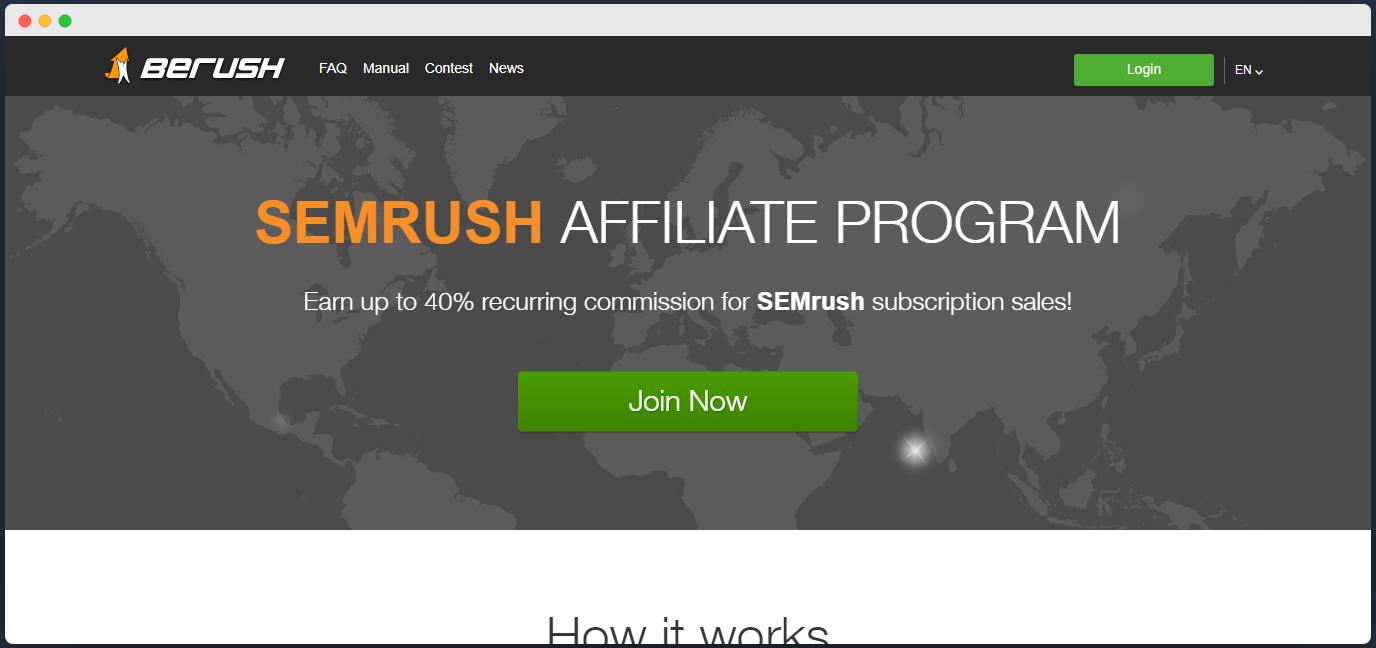 semrush affiliate
