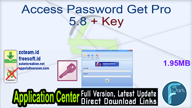 Access Password Get Pro 5.8 + Key_ ZcTeam.id