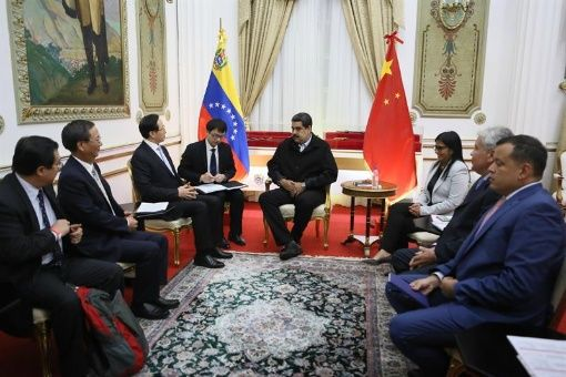 China ratifica apoyo a Venezuela ante injerencias externas