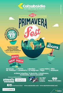 PRIMAVERA FEST 6 | Música y gastronomía en familia