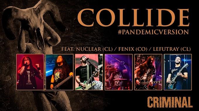 """Nueva #VersiónPandemia: """"Collide"""" de CRIMINAL, un clásico del Metal Sudamericano"""