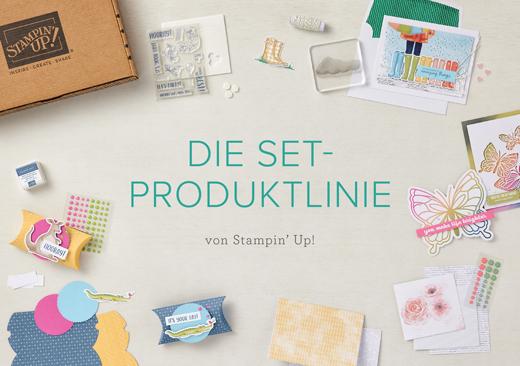 Set-Produkt-Linie von Stampin Up: Komplette Kreativ-Sets zum kleinen Preis