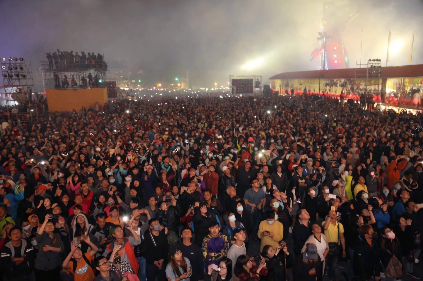 [活動] 鹿耳門聖母廟除夕跨年晚會×新春嘉年華會|重頭戲:國際高空煙火秀元宵節登場