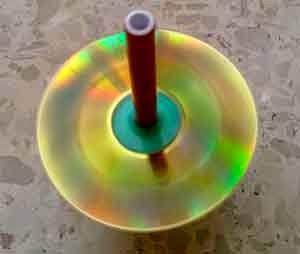 Trompo con CD