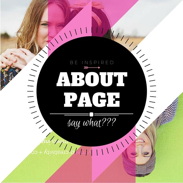 About page: i miei preferiti!