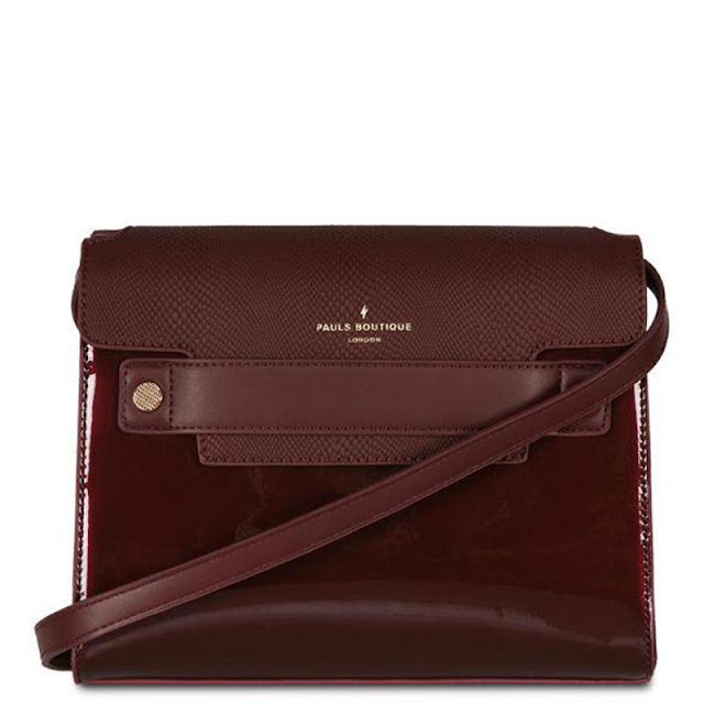 Paul s boutique μπορντό τσάντα χιαστί f67b014c95e