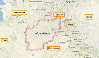 Chinese  Afghan Borders