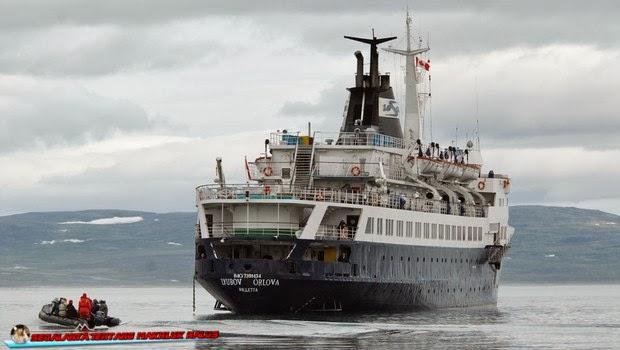 Misteri Kapal Lyubov Orlova yang Hilang dan Muncul Kembali