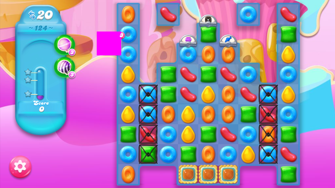 Candy Crush Jelly Saga 124