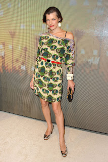 Milla Jovovich, Marni at launch for Marni @ H & M