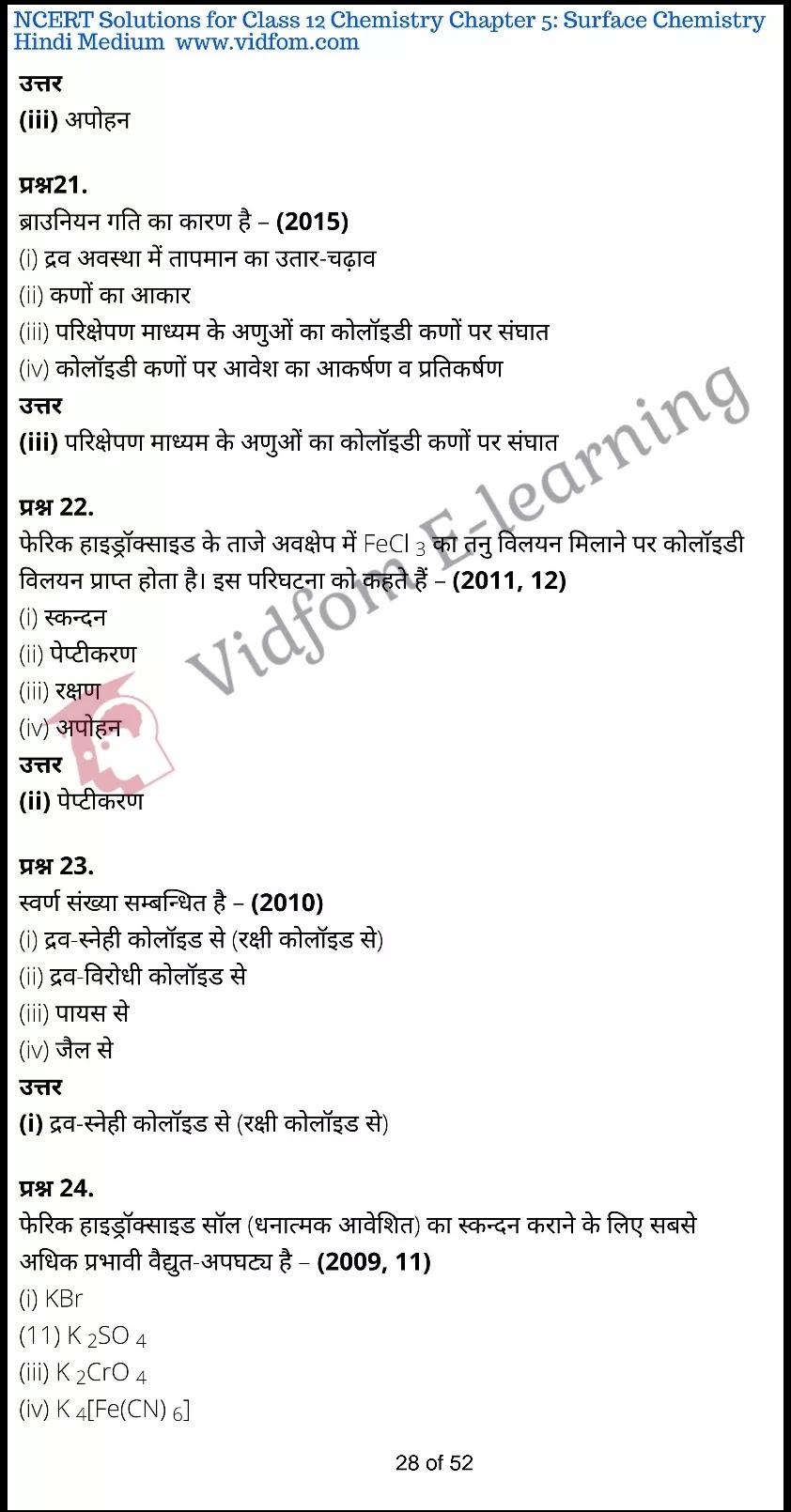 class 12 chemistry chapter 5 light hindi medium 28