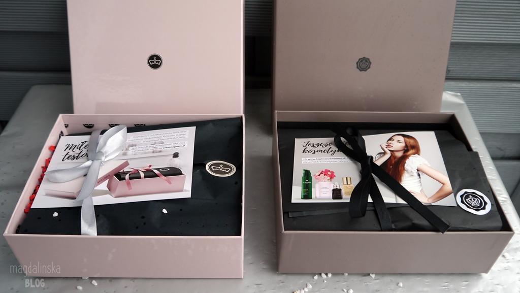 pudełka beglossy blog opinia