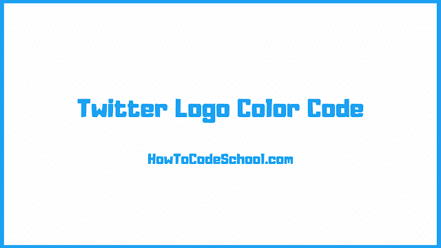 Twitter Logo Color Code