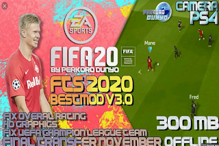 FTS 20 MOD FIFA 20 FULL EROPA 2019/20