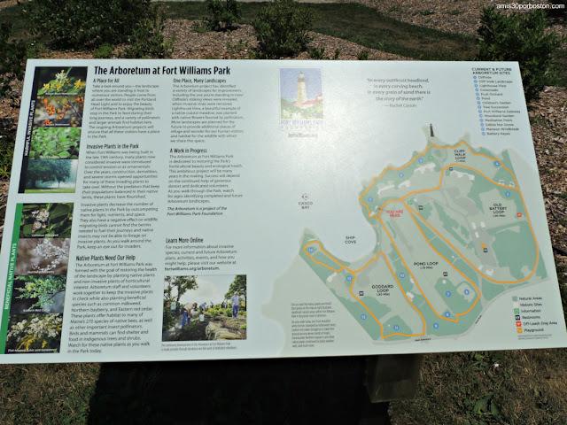 Arboretum de Fort Williams Park