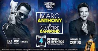 MARC ANTHONY Y SILVESTRE DANGOND