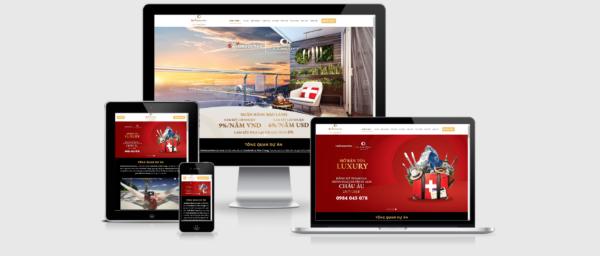 Theme WordPress bất động sản số 9 – Swisstouches La Luna Resort