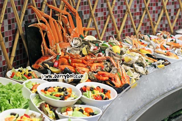 Hard Rock Hotel Penang Seafood Buffet Saturday Night Live Penang Blogger Influencer www.barryboi.com Penang Hotel