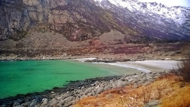 Magic Norway spiaggia Lofoten