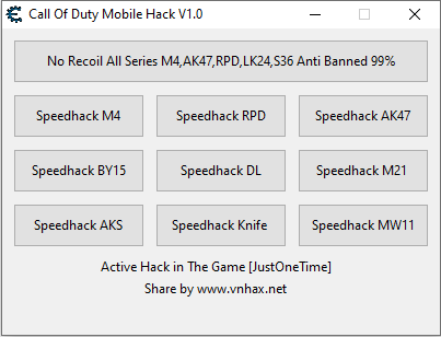 Hack Call Of Duty Mobile / Norecoil 100% [safe]
