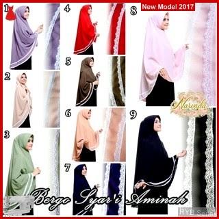 RYB048B Khimar Syar Cantik i Murah Aminah BMG Online Shop