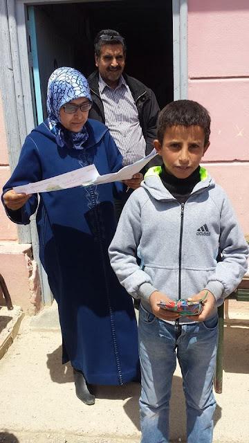 مجموعة مدارس بني محسن جماعة كلدمان اقليم تازة تحتفل بالمنتدى الاقليمي الخامس للبيئة