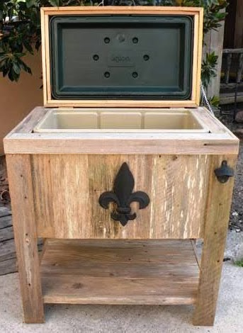 Outdoor Kitchen New Hand Made Weathered Wood Outdoor