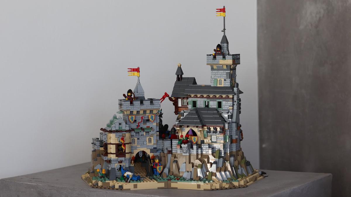 レゴアイデアで『中世の城』が製品化レビュー進出!2020年第3回1万サポート獲得デザイン紹介