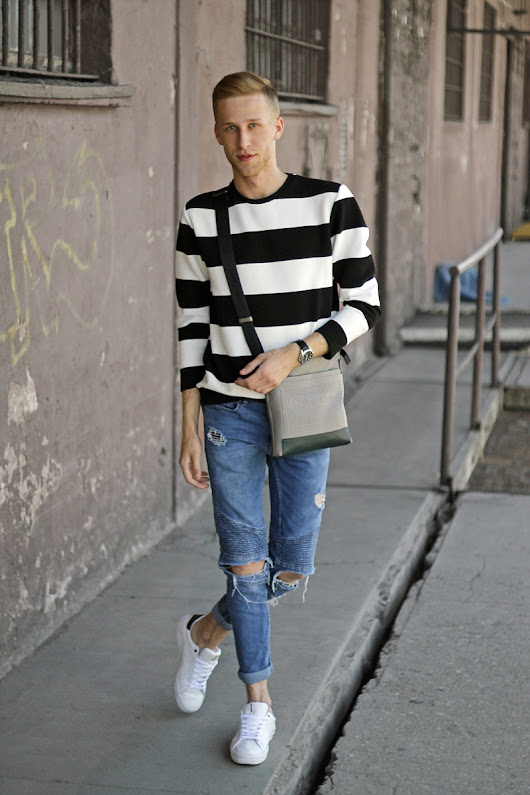 ModeFriends | MODA I LIFESTYLE: SIMPLE LOOK x stripes