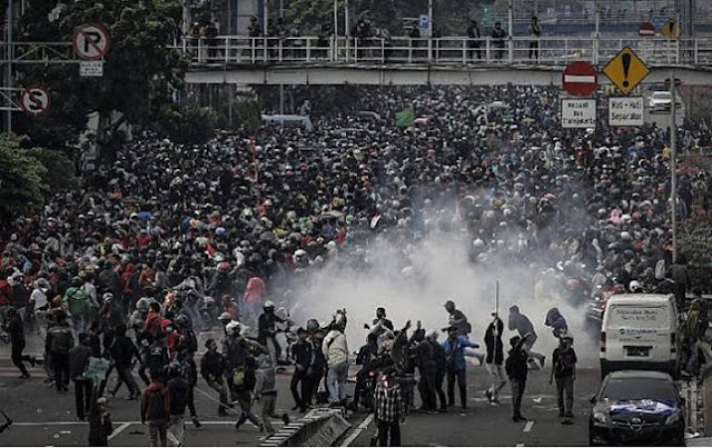 Catat! 20 Oktober Bakal Ada Demo Besar-besaran saat Setahun Jokowi-Maruf