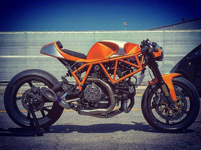 Ducati Super Sport By CC Racing Garage Hell Kustom